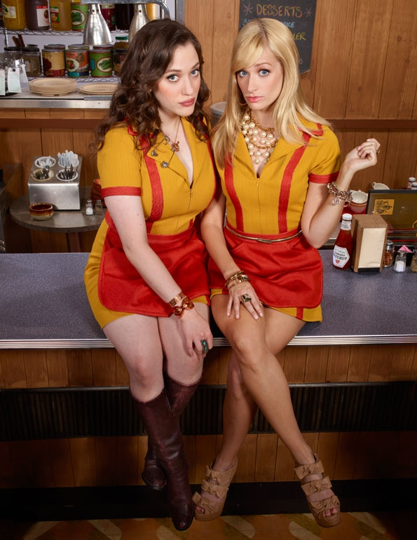 2 broke girls foto (4)